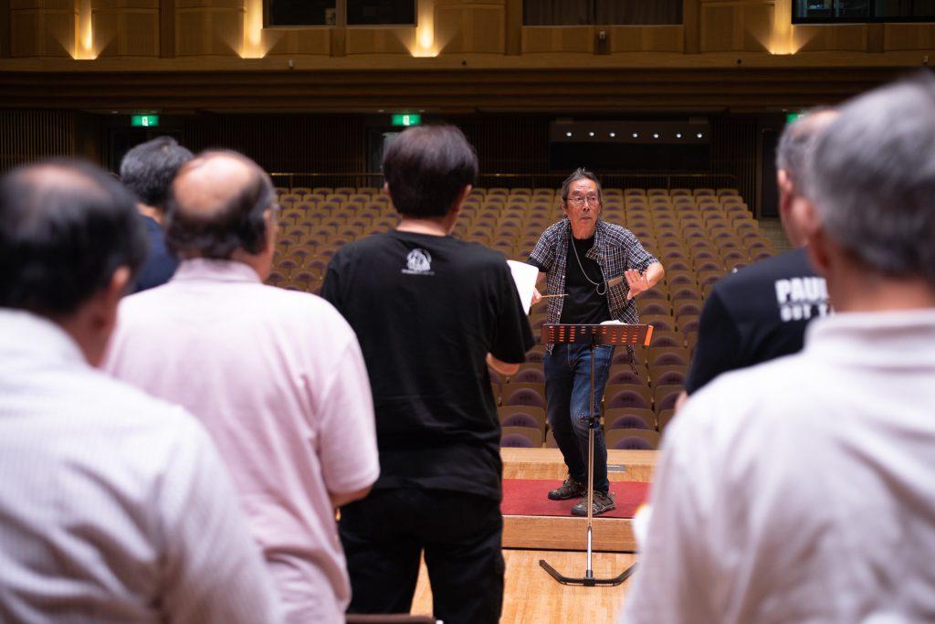 佐久第九合唱団 練習風景
